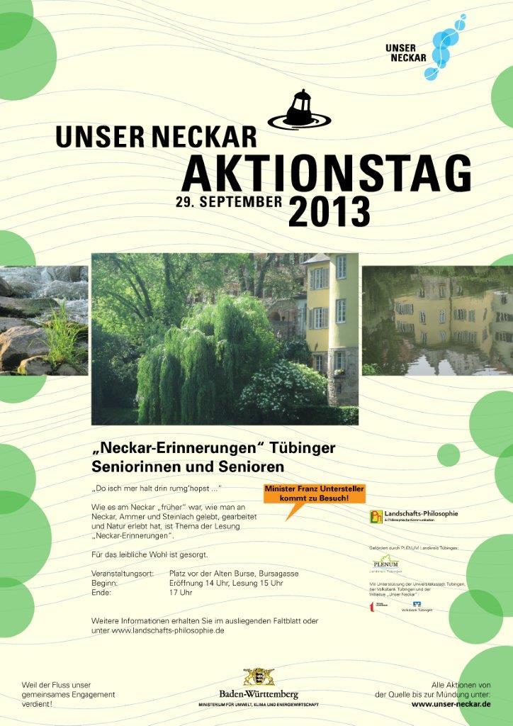 Nekar-Erinnerungen, Plakat